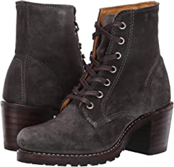 5761463a52eb Frye sabrina 6g lace up black montana stone wash