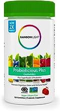 Rainbow Light Probiolicious Plus Gummies Plus Superfoods & Probiotics, Berry - 120 Gummies