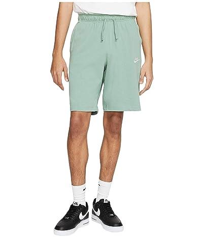 Nike NSW Club Shorts Jersey (Silver Pine/White) Men