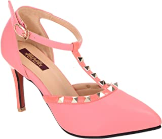 Shuz Touch Pink Belly Shoes