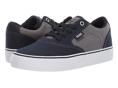 etnies Kids Blitz (Toddler/Little Kid/Big Kid) (Navy/Grey) Boys Shoes