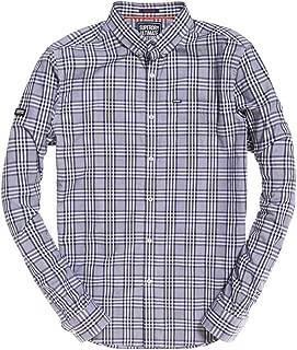 Mens Ultimate University Oxford Shirt Buck Navy Check