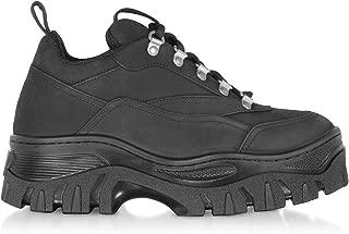 MSGM Luxury Fashion Womens 2741MDS50939599 Black Sneakers | Fall Winter 19