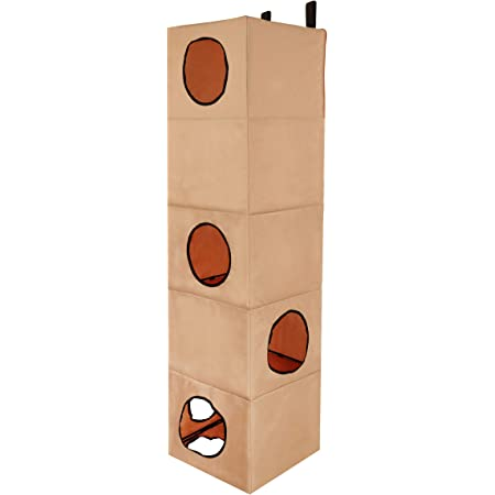 K H Pet Products Hangin Cat Condo Multi Story Classy Gray 5 Story High Rise Pet Supplies