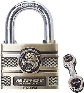 2in Hardened Keyed Hardware Padlock with 4 Special Keys