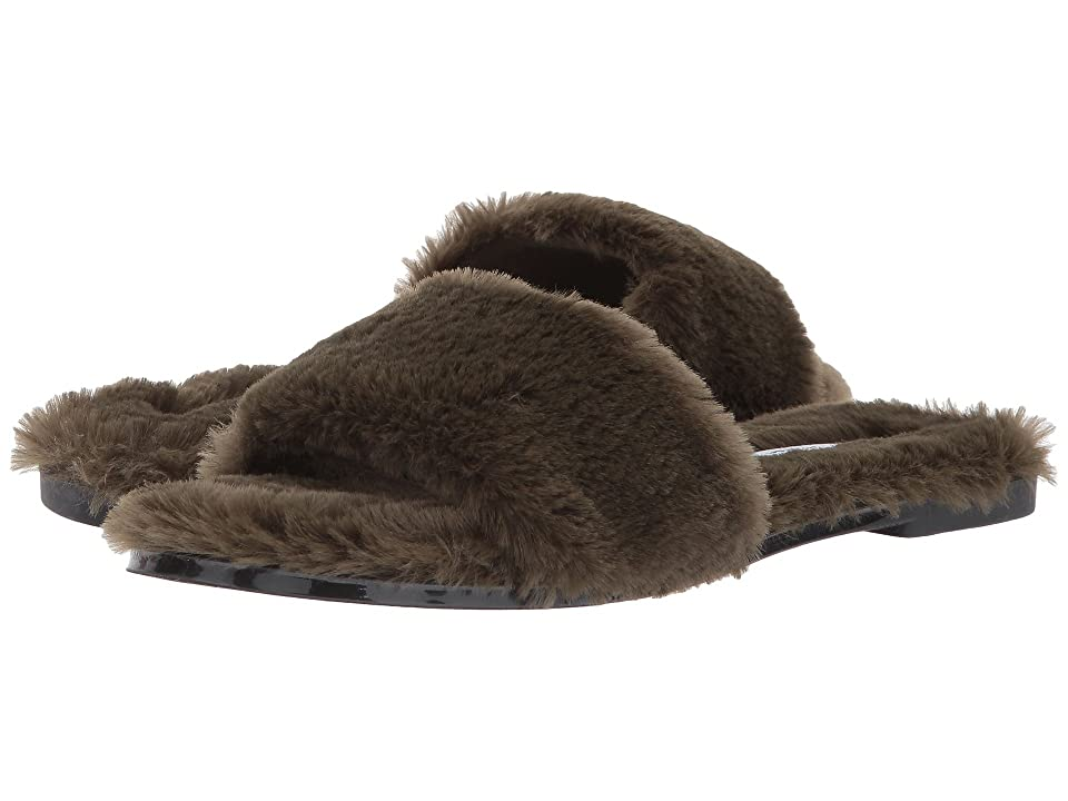 Chinese Laundry Mulholland Sandal (Olive Fur) Women