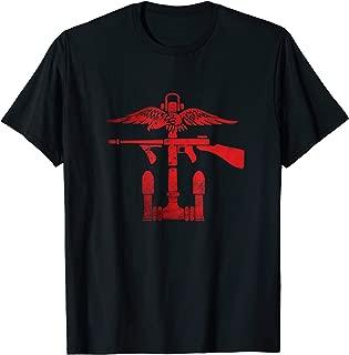 camiseta de la película de comando
