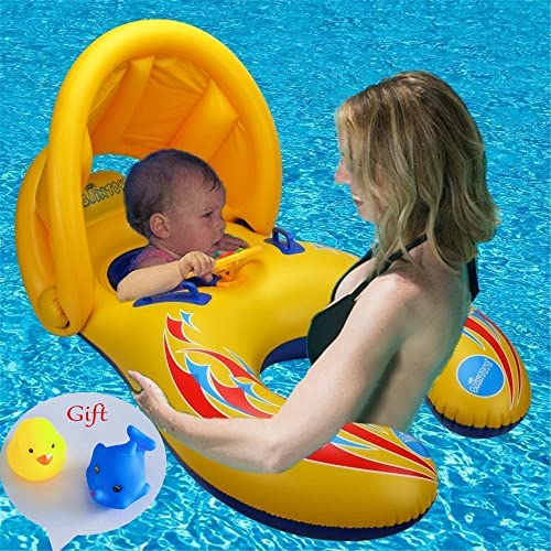 Baby Swimming Neck Float Inflatable Adjustable Ring Age1-18 Months UK Selling
