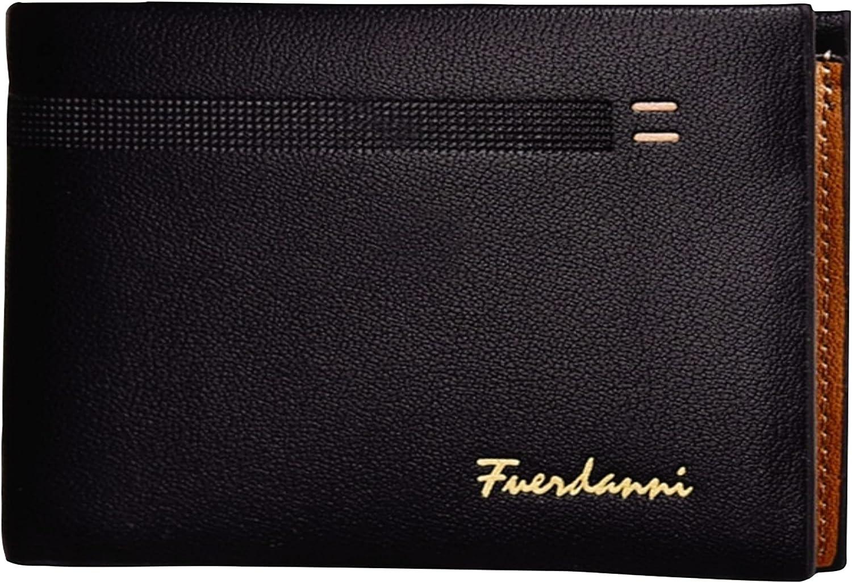 Mens Wallet Genuine Leather , Card wallets,Mens purses Card Holder Case Black color wallet