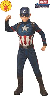 Rubie's Marvel: Avengers Endgame Child's Captain America Costume & Mask, Medium