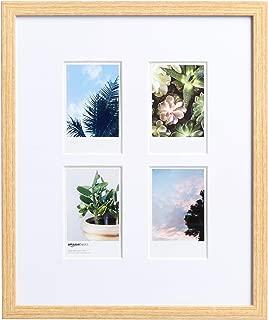 AmazonBasics Photo Frame for use with Instax - 4-Opening - 3.25