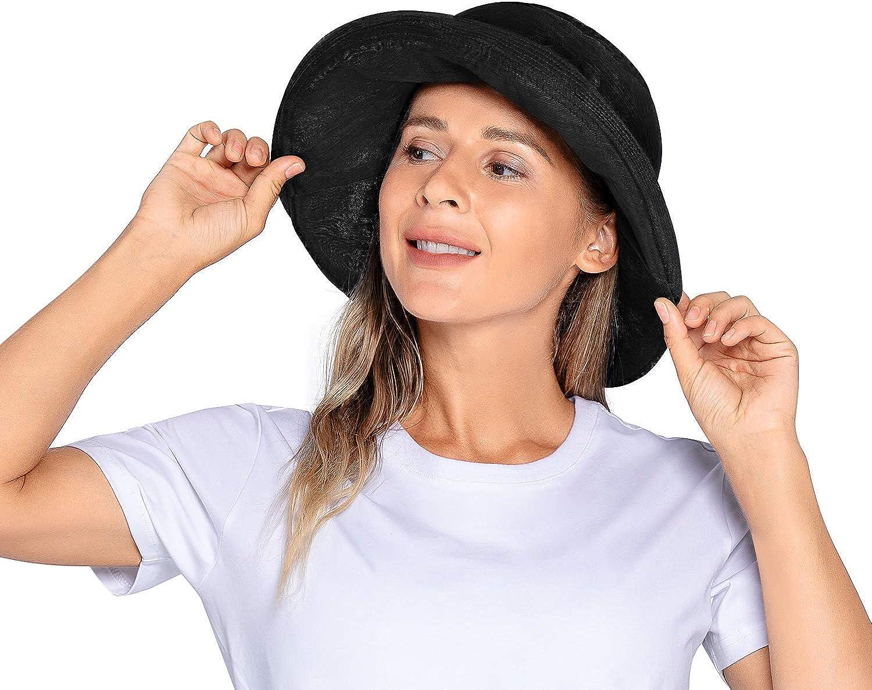 Gonex UPF 50+ Sun Hat Bucket Beach Hat for Women Wide Brim Quick Dry Breathable