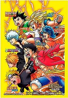ALL STAR HEROES One Piece Naruto Bleach Dragon Ball Z Character Card Sleeves TCG CCG MTG Magic Weiss Schwarz