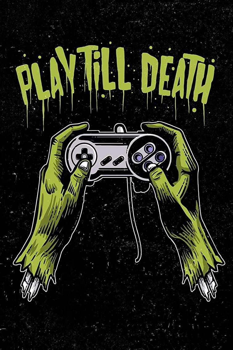 潤滑する謙虚杖Play Till Death: Zombie Gamer Cornell Note Taking System Notebook For Students