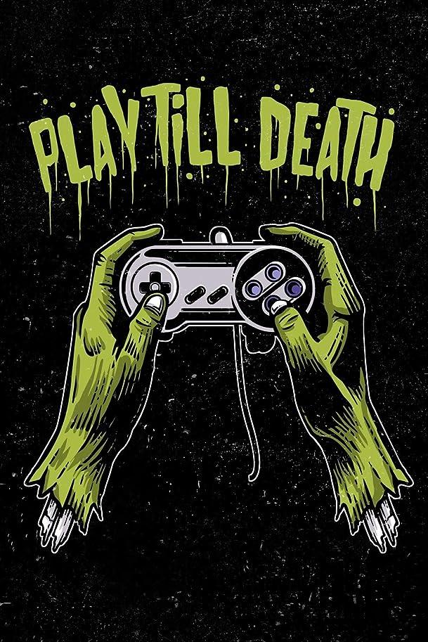 良心舌なバイオレットPlay Till Death: Zombie Gamer Cornell Note Taking System Notebook For Students