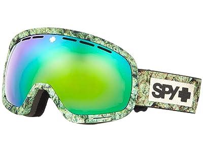 Spy Optic Marshall (Kush Hd Plus Bronze w/ Green Spectra Mirror + Hd Plus Ll Persi) Snow Goggles