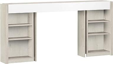 GAMI BROOKLYN Bookcase Headboard, White, H 83 x W 188 x D 28 cm, 1H53016