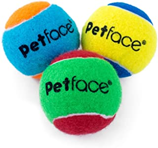 Petface Single Squeaky Tennis Ball (Pack of 20)