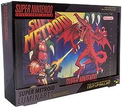Nintendo 任天堂 Super银河战士灯艺术品 帆布 多色