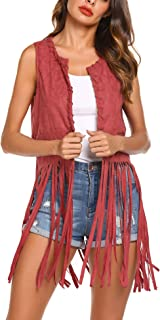 Best girls fringe vest Reviews