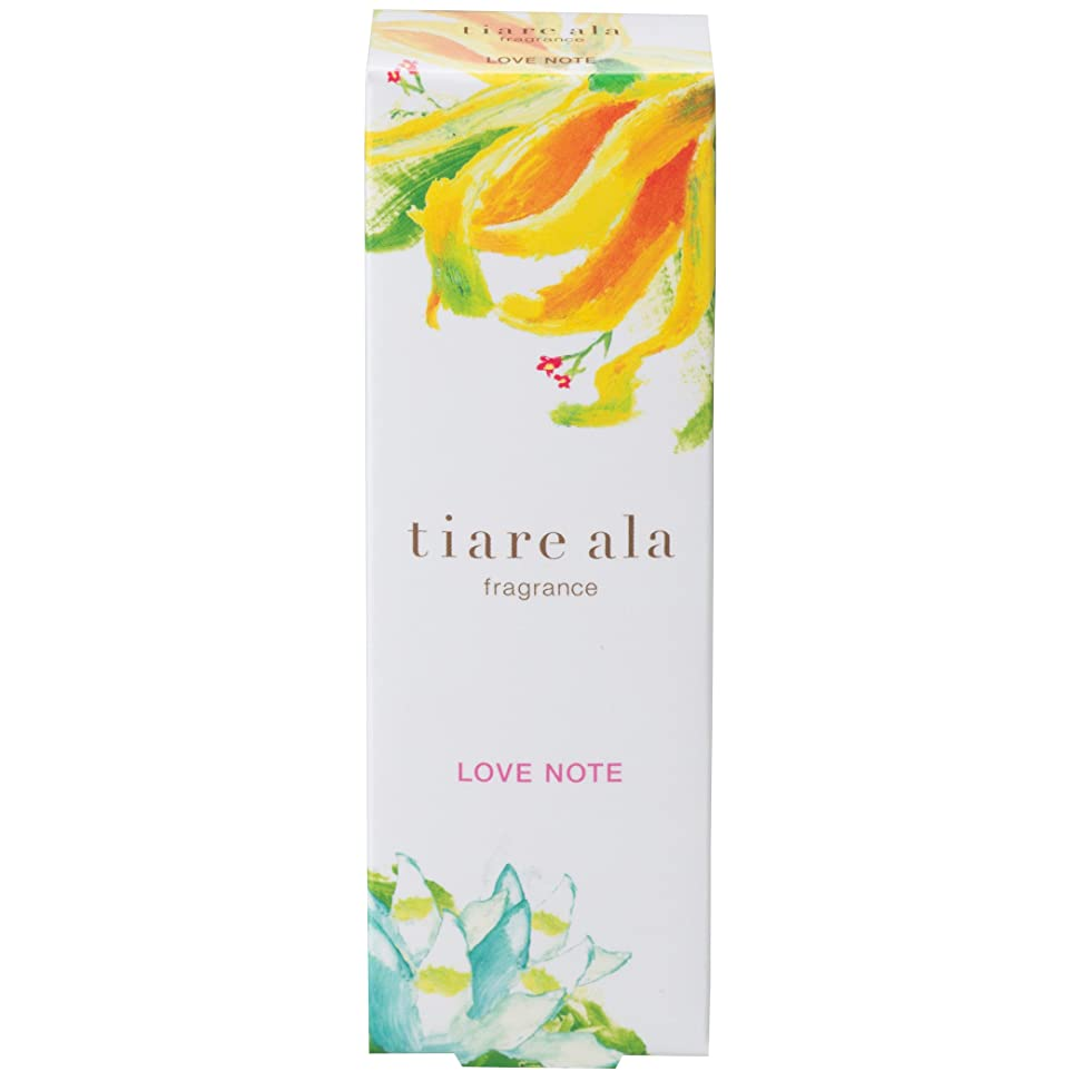 勝利した豊富なクラックポットティアレアーラ フレグランス ラブノート 〈ネロリ & イランイランの香り〉 (14.5mL)