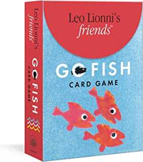 Leo Lionni's Friends Go Fish Card Game: Includes Rules for Two More Games: Concentration and Snap
