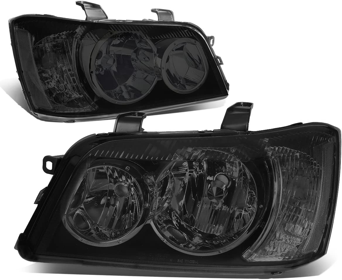 DNA Motoring HL-OH-098-SM-CL1 Smoke Lens Clear Headlights R Side New cheap life