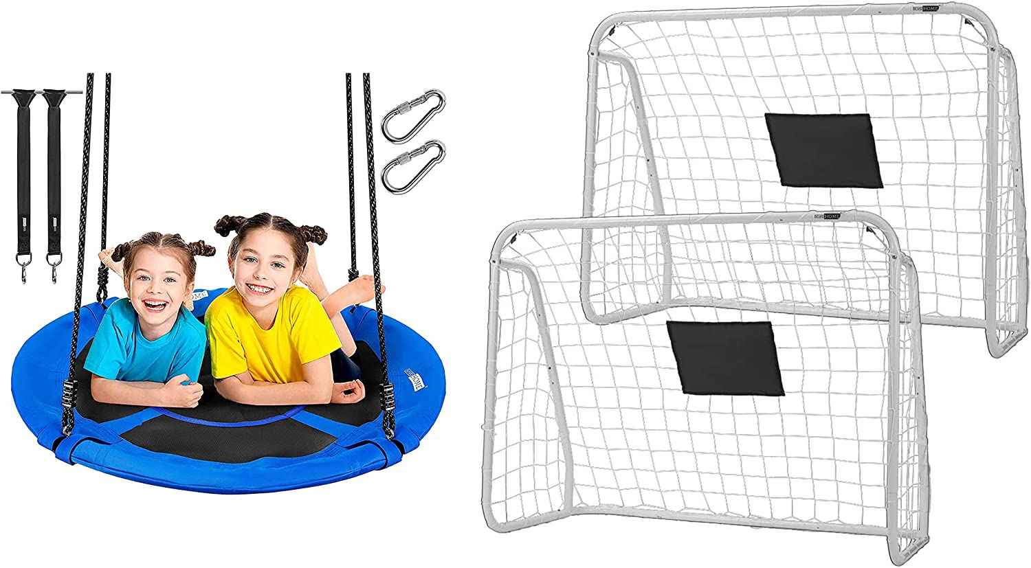 VIVOHOME safety 41 Inch 600 lbs Saucer Blue 67% OFF of fixed price for Adults Kids Swing Tree