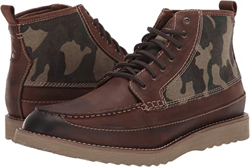 Dark Brown/Camo Crazy Horse/Fabric