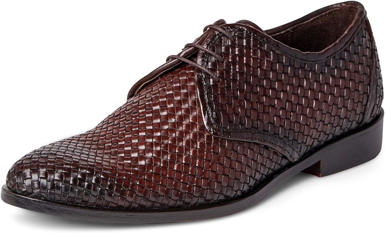 Carlos Santana Men's Jazz Oxford Leather Dress Shoe Fashion Comfort Luxury