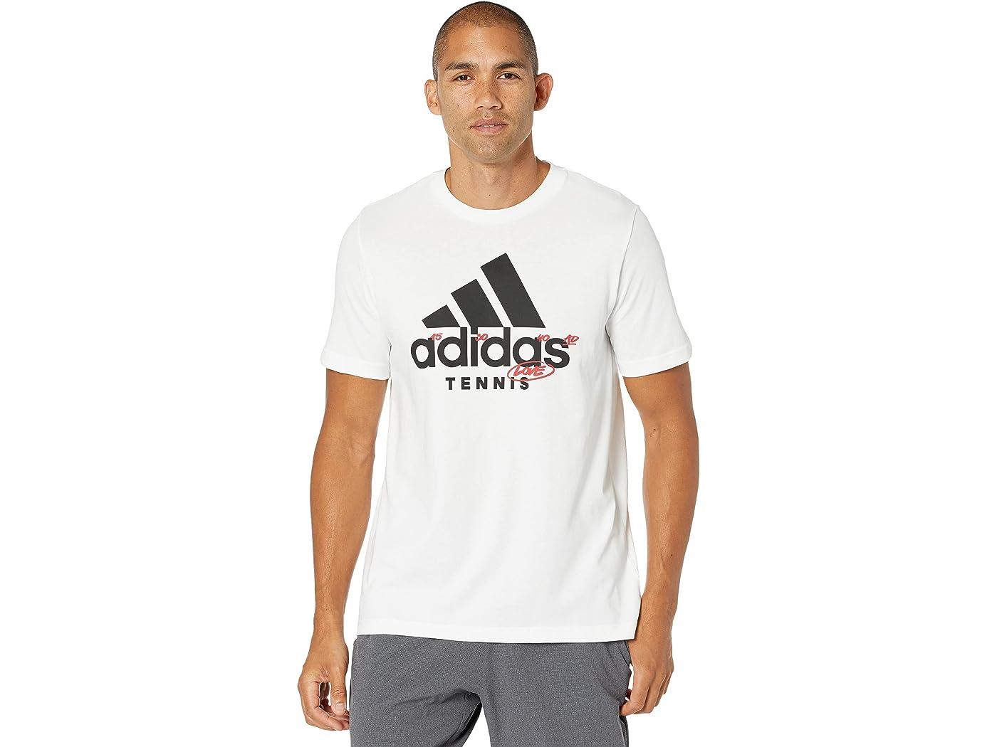 Adidas Tennis Graphic Logo Tee