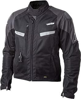 HELITE Unisex-Adult Free Air Vented Motorcycle Airbag Jacket (Grey, Medium)