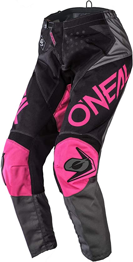O Neal Element Factor Women S Mx Dh Mtb Trousers Long Black Pink 2020 Oneal Pink Sport Freizeit