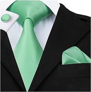 Herren krawatte seide einfarbig Hochzeit Retro Business Schlips Mit passendem Einstecktuch