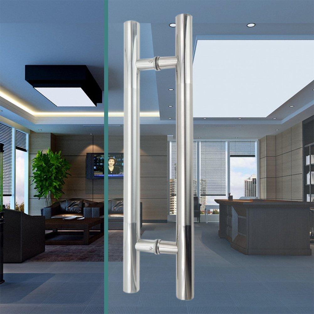 skert 600 mm/24 pulgadas 304 Acero inoxidable cuarto de baño puerta de cristal Tiradores mango, para Motocross: Amazon.es: Bricolaje y herramientas