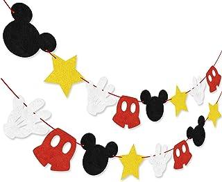 10 Mejor Decoracion De Cumpleaños De Mickey Mouse de 2020 – Mejor valorados y revisados