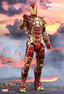 "Hot Toys HT902963 Marvel Iron Man Mark XLI "" Bones Retro Armor Version Figure, 1:6 Scale"