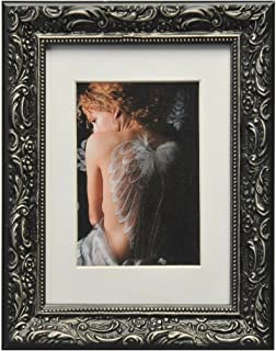 Henzo Chic Baroque, Picture Frame, Wood, Wood, Black, 18 x 24 x 2 cm