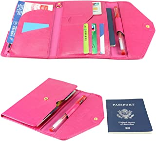 All-In-One Large Capacity RFID Blocking Travel Wallet – Multi-Purpose Passport Holder and Organizer