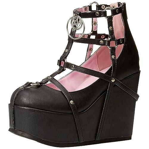 df56ea7b9fcc Demonia Women s POISON-25-1 Ankle Boot