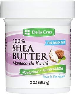 De La Cruz Pure Shea Butter, Hexane Free, Packed in USA 2 OZ.