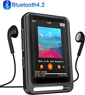 MP3 Player, Searick 16G MP3 Player with Bluetooth 4.2, 2.4