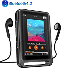 "MP3 Player, Searick 16G MP3 Player with Bluetooth 4.2, 2.4"" LCD Portable HiFi.."