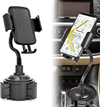 Car Cup Holder Phone Mount Holder, Ankey Adjustable Gooseneck Car Cup Holder Cradle Mount for Cellphone, Compatible with iPhone Xs/Max/X/XR/ 8/8 Plus, Samsung Note 9/ S10+/ S9/ S9+/ S8