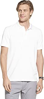 Geoffrey Beene Men's Slim Fit Short Sleeve Ottoman Solid Polo Shirt
