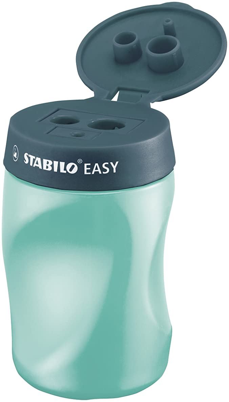STABILO Easy Right Handed Sharpener - Petrol