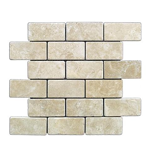 Travertine Backsplash Tile for Kitchen: Amazon.com