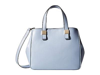 Cole Haan Tali Satchel (Zen Blue) Handbags