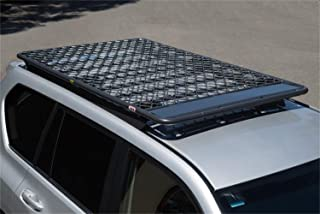 ARB 4913020M Roof Rack 80 in. Long x 51 in. Wide x 7 in. High Flat Aluminum Alloy Roof Rack w/AmplimeshMesh Floor 330 lbs. Max. Load Rating Roof Rack