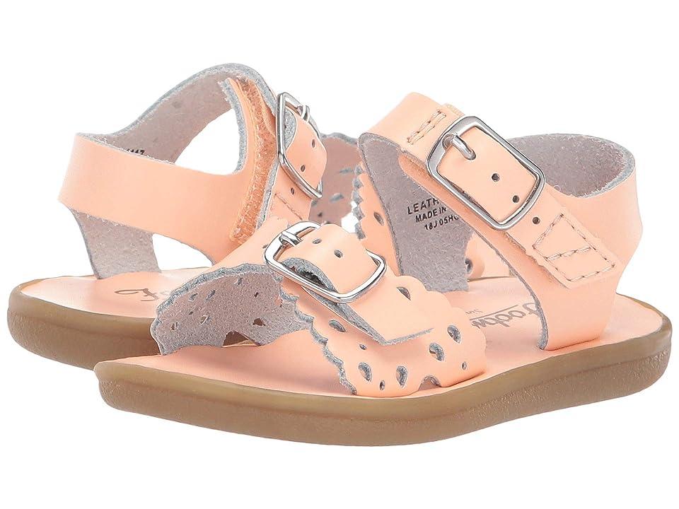 FootMates Ariel (Infant/Toddler/Little Kid) (Creamsicle) Girls Shoes